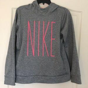 Girl's XL NIKE DRI-FIT hooded sweatshirt